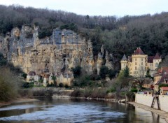 Voyages : Europe La Roque-Gageac (Dordogne)