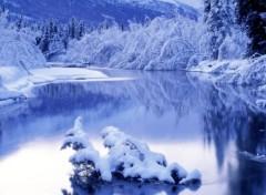 Nature Blue-Winter-Season