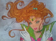Art - Pencil SAILOR JUPITER