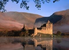Constructions and architecture castle_kilchurn_duih_loch_scotland_edinburgh