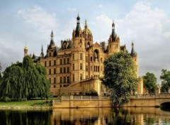 Constructions et architecture germany_schwerin_castle