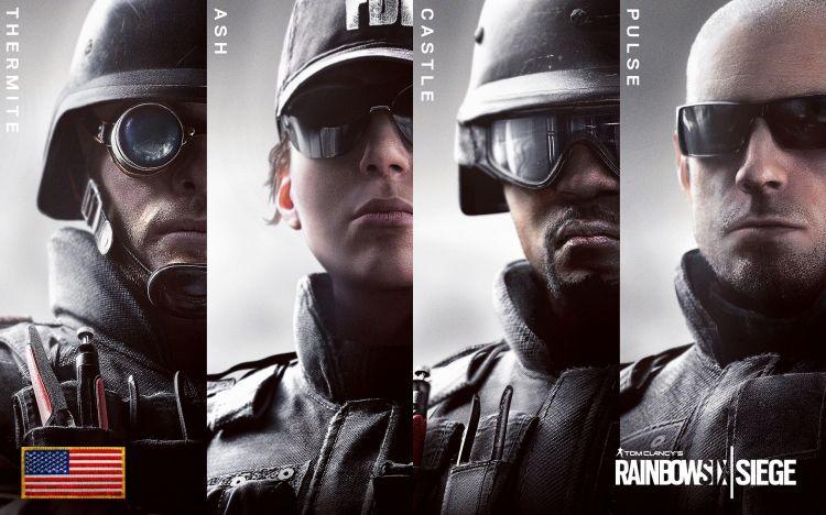 Fonds d'écran Jeux Vidéo Tom Clancy's Rainbow 6 : Siege Wallpaper N°425185