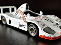 Voitures Porsche 936 victorieuse des 24 Heures du Mans 1981