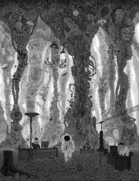 Fonds d'écran Art - Numérique Surréalisme - Symbolisme - Onirisme Je ne sais plus trop