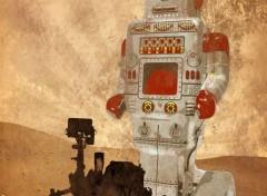 Digital Art Curiosity and the Martians