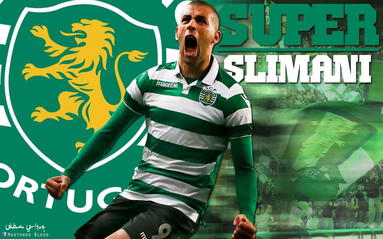 Wallpapers Sports - Leisures Football Islam Slimani
