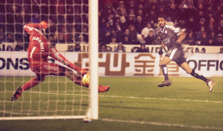Wallpapers Sports - Leisures Football Ryad Karim Mahrez - Algerian/Leicester Player