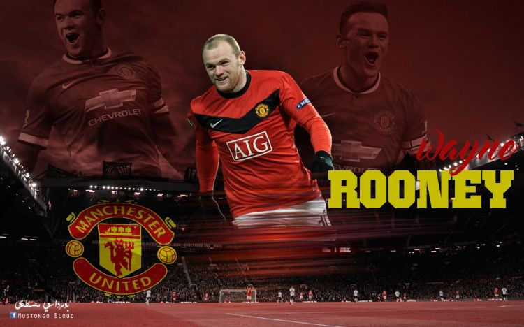 Wallpapers Sports - Leisures Manchester United wayne rooney