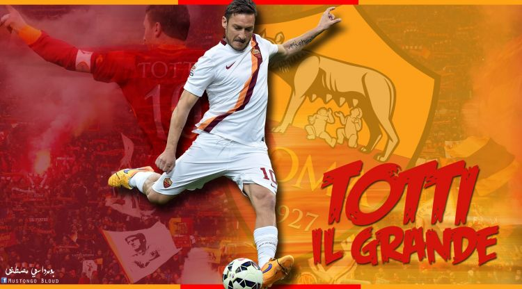 Wallpapers Sports - Leisures Football Francesco Totti