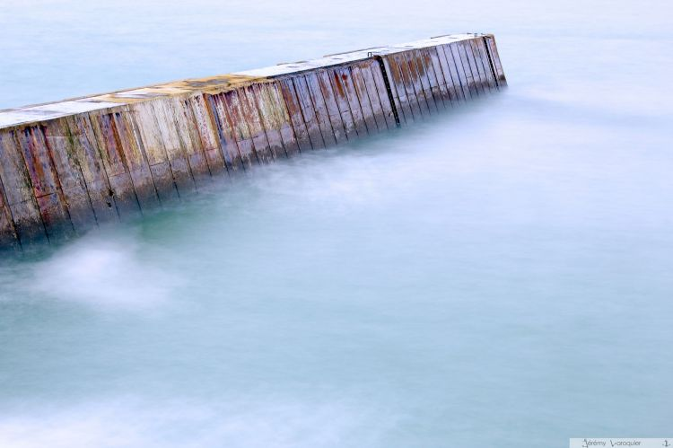 Wallpapers Constructions and architecture Harbours - Docks Digue de Kerroc'h au repos....