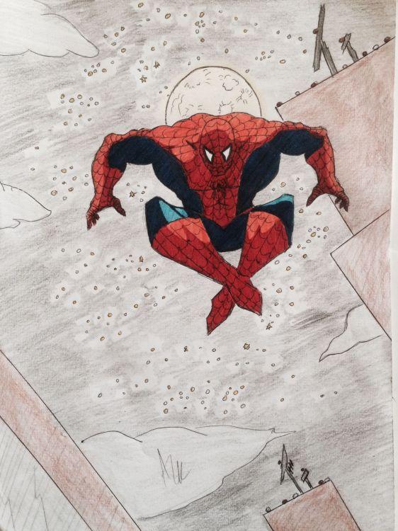 Wallpapers Art - Pencil Comics - Spiderman Wallpaper N°429325
