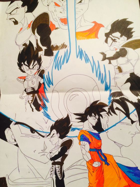 Wallpapers Art - Pencil Manga - Dragon Ball Z Wallpaper N°429410