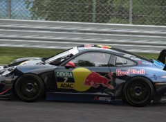 Video Games Porsche GT3-red bull skin-projectcars