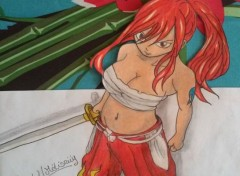 Art - Pencil ERZA SCARLET