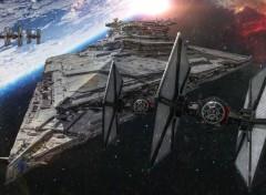 Cinéma Vaisseau Star Wars