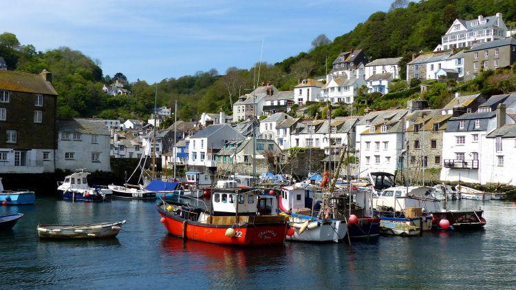 Fonds d'écran Voyages : Europe Grande-Bretagne Polperro