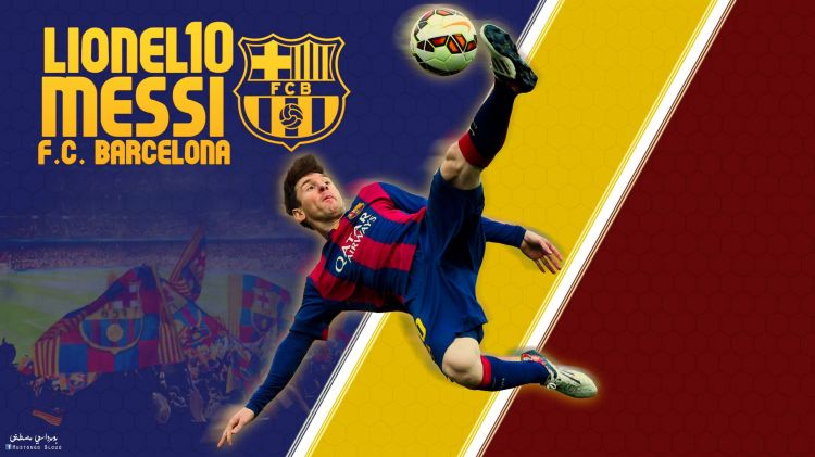 Wallpapers Sports - Leisures FC Barcelone lionel messi