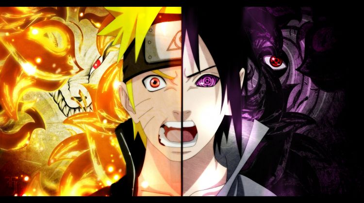 Wallpapers Manga Naruto NarutoXSasuke