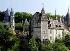 Voyages : Europe Le château de La Rochepot