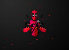 Comics et BDs Deadpool Minimalist