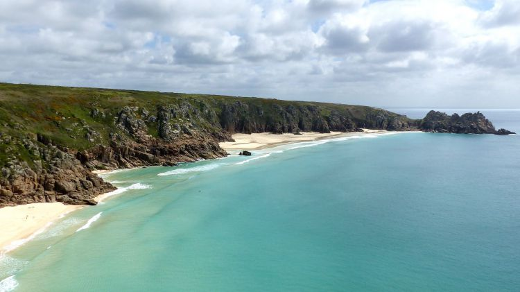 Fonds d'écran Voyages : Europe Grande-Bretagne Porthcurno (Cornwall)