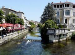 Voyages : Europe L'Isle-sur-la-Sorgue (Vaucluse)