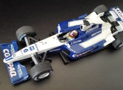 Voitures Williams BMW FW 23 de 2001 (pilote Juan - Pablo MONTOYA )