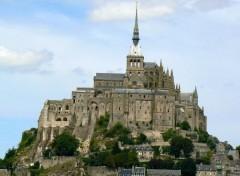 Constructions and architecture Mont Saint-Michel 01