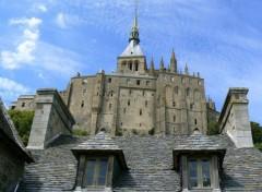 Constructions and architecture Mont Saint-Michel 03