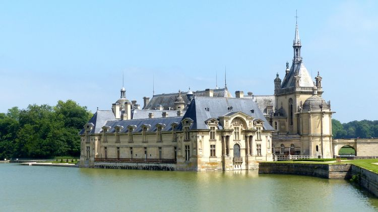 Wallpapers Trips : Europ France > Picardie Le château de Chantilly (Oise)