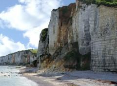 Voyages : Europe Les falaises d'Yport