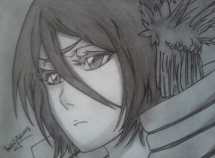 Art - Pencil rukia kuchiki