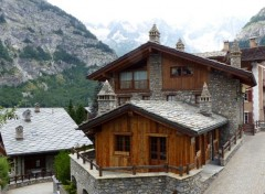 Constructions and architecture Chalet Italien à Courmayeur