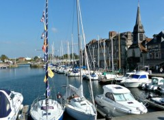 Boats Le port de Honfleur