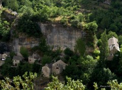 Constructions and architecture GORGES DU TARN
