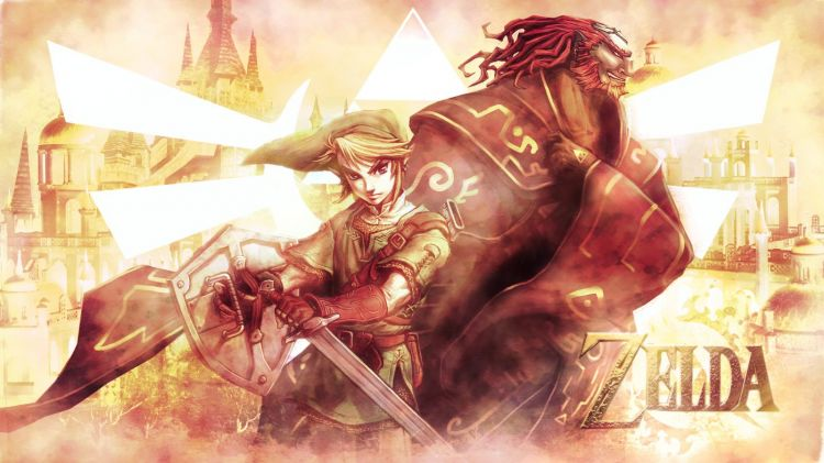 Wallpapers Video Games Zelda Zelda. Link and Ganondorf