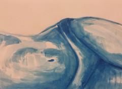 "Art - Peinture Ismael Guerrier - ""Andrea"""