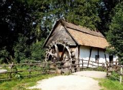 Voyages : Europe Le vieux moulin à eau (province du Limbourg)