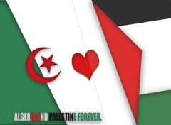Digital Art ALGERIA AND PALESTINE FOREVER
