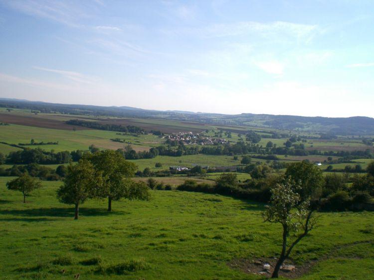 Fonds d'écran Nature Paysages Panorama sur Annéot (89)