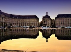 Constructions and architecture Miroir d'eau Bordeaux