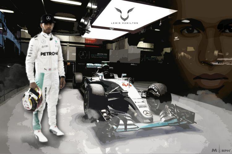 Fonds d'écran Sports - Loisirs Formule 1 Lewis hamilton