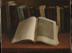 Art - Peinture Nature morte aux livres - 1892 - Ozias Leduc