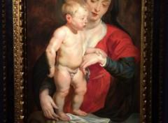 Art - Peinture La Vierge (dite de Cumberland) - XVIIe siècle - Pierre-Paul Rubens