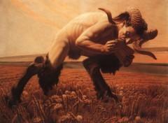 Art - Peinture Le Faune - 1923 - Carlos Schwabe