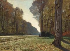 Art - Peinture Le Pavé de Chailly - vers 1865 - Claude Monet