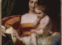 Art - Peinture L'enfance de Pic de la Mirandole - 1842 - Paul Delaroche