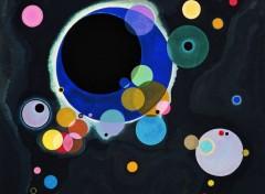 Art - Peinture Quelques cercles - 1926 - Einige Kreise