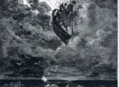 Art - Peinture Un voyage vers la lune - 1868 - Gustave Doré