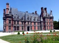 Voyages : Europe Le château de Trévarez (Finistère sud)
